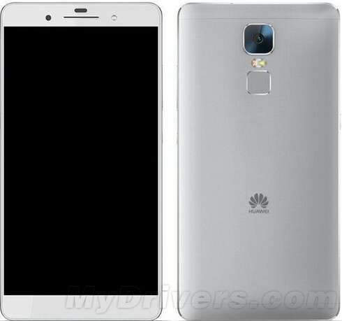Render of the Huawei Mate 8 - Huawei Mate 7 Plus rumored to be the subject of September 2nd event with the Mate 8 delayed until 2016