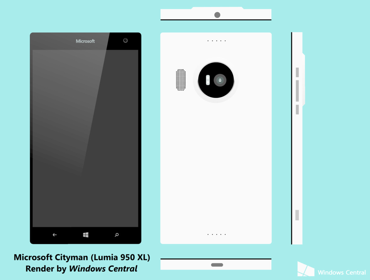 Microsoft Lumia 950 (Talkman) and 950 XL (Cityman) won't ...