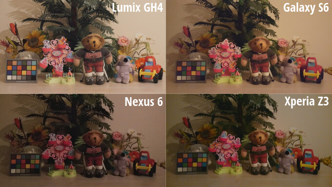 Thumbnails of all four snapshots. - Smartphones are catching up with $2,000 cameras in terms of video recording, and here's the proof