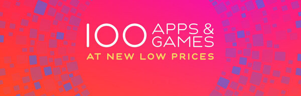 Apple posts a huge '100 Apps & Games' promo, great iOS titles go on sale for just $0.99