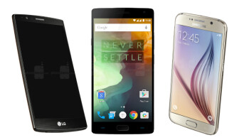 Comparison: OnePlus OnePlus One, Samsung Galaxy 2 vs S6 and LG G4