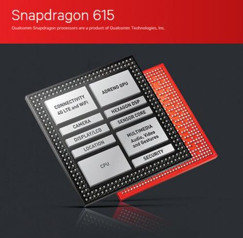 A Snapdragon 615 chipset