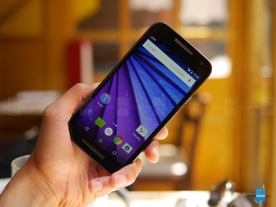 Motorola Moto G (2015) hands-on