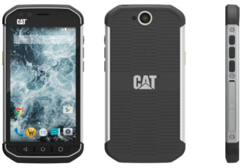 The Caterpillar S40 Is A Very Rugged But Not Ful Smartphone