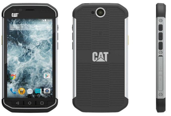 The Caterpillar S40 is a very rugged but not very powerful smartphone