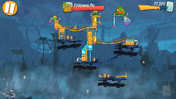 Foreman Pig - one of the many bosses in Angry Birds 2