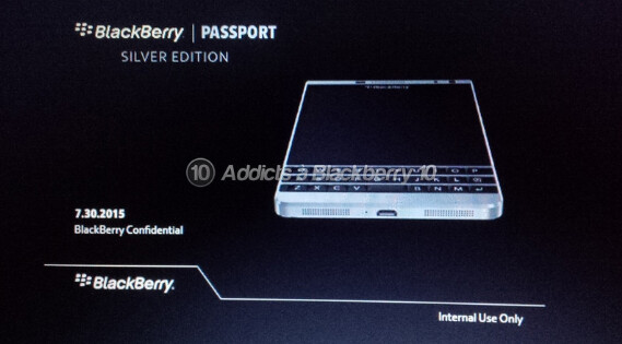 Dallas is known for oil and gold, but it will soon be known for silver. The BlackBerry Passport Silver, that is - BlackBerry Dallas to be named BlackBerry Passport Silver Edition