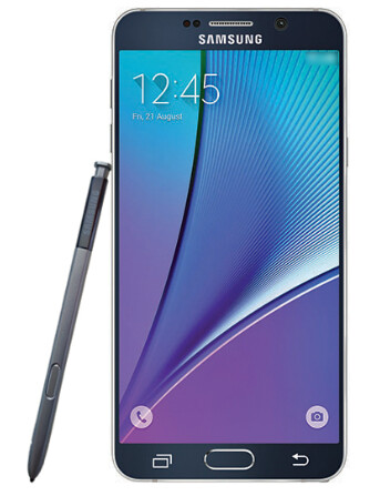 Samsung Galaxy Note 5 press render