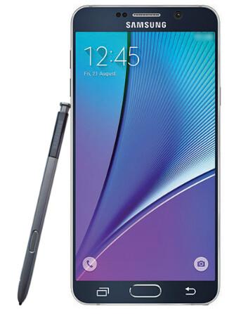 Samsung Galaxy Note 5 press render