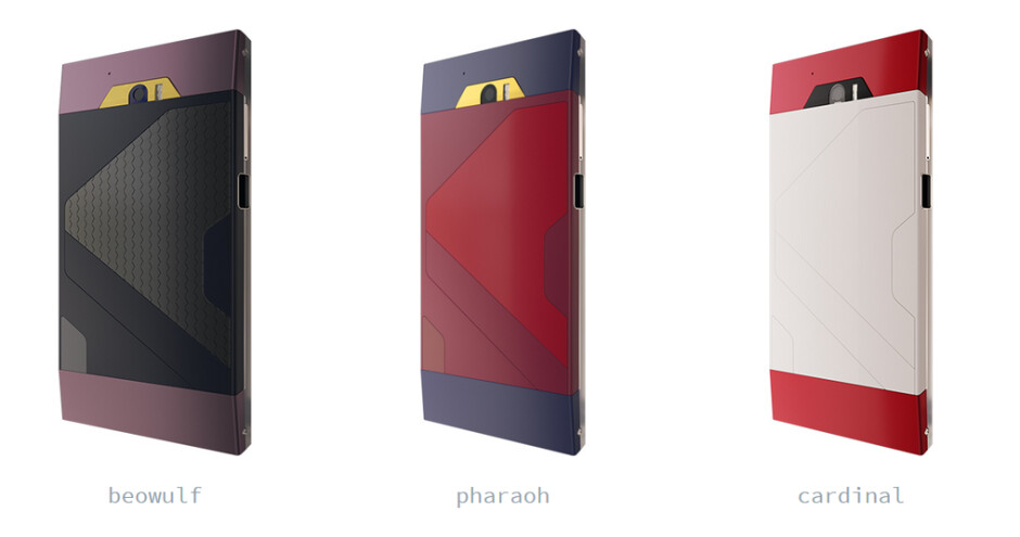 The Turing Phone can be reserved in one of three colors - Reserve a Turing Phone now: 5.5-inch Gorilla Glass 4 screen, liquid metal finish, IPX8 certification