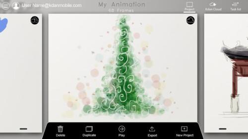 Animation Desk Cloud