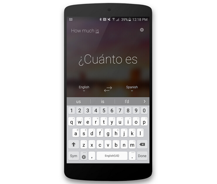 Microsoft Translator for Android