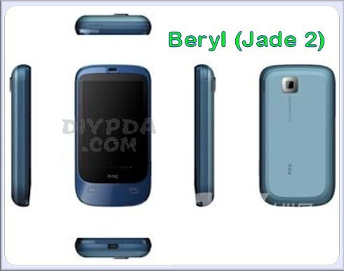 Beryl - Is this HTC's lineup for 2009?