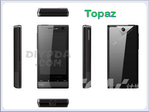 Topaz - Is this HTC's lineup for 2009?