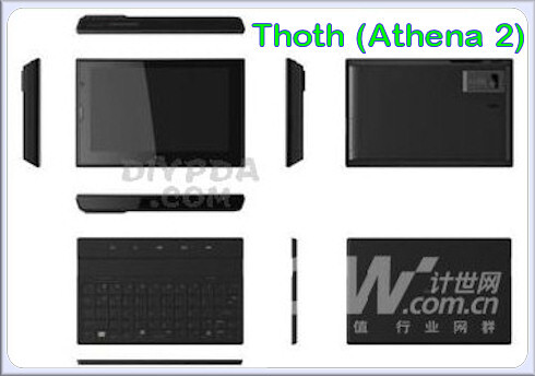 Thoth - Is this HTC's lineup for 2009?