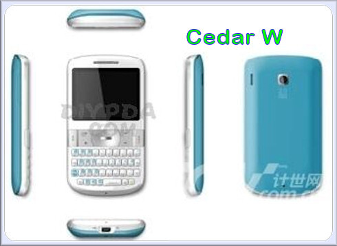 Cedar - Is this HTC's lineup for 2009?