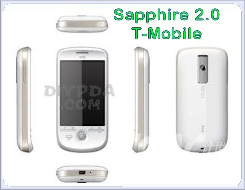 Sapphire - Is this HTC's lineup for 2009?