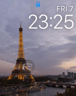 Nuovo orologio faccia time-lapse di Parigi.  Oui oui