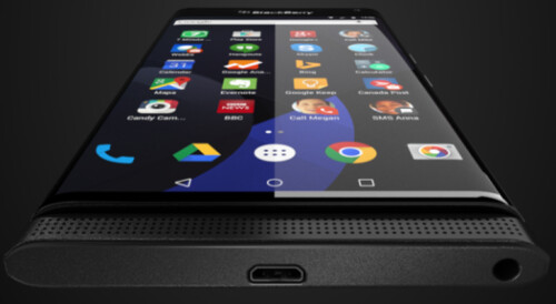 Previously released render shows the phone with the QWERTY closed