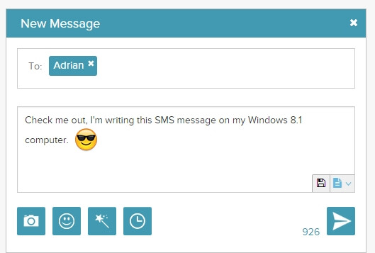 Android tutorial: how to send SMS messages from your Windows or Mac