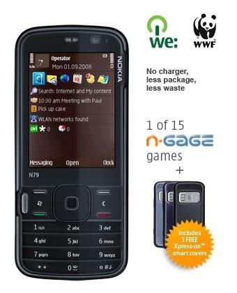 Nokia N79 Eco for a living planet