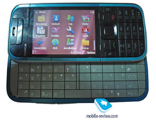 Nokia 5730 XpressMusic appears in focus for the first time