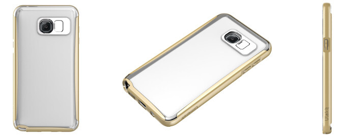 Ulak's Lumenair line - Samsung's upcoming Galaxy Note 5 gets rendered with cases from Ulak
