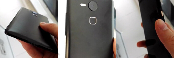 """Alleged images of a future Nexus phone from earlier leaks - The new face of Nexus: front speakers, fingerprint on the back, USB Type C on a 5.7"""" Huawei phablet and 5.2"""" LG phone"""
