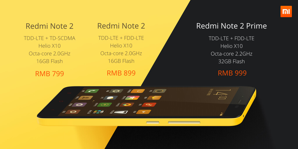 Redmi Note 2 Price