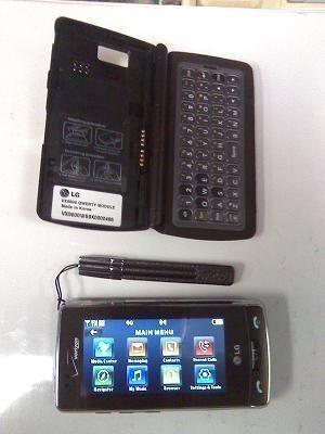 LG's VX9600 Versa shows its face