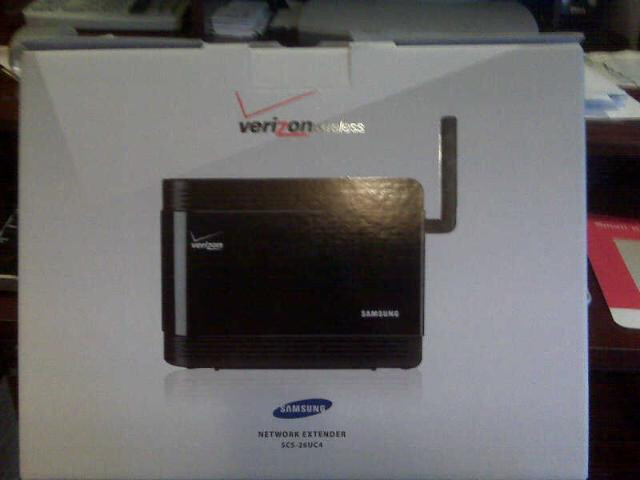 what to dial to connect to verizon network extender