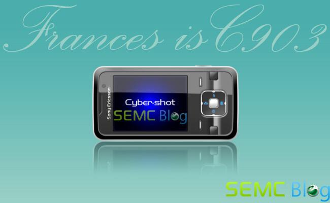 C903 will be Sony Ericsson's new Cyber-shot phone?