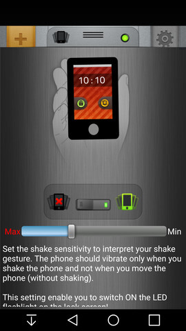 how to get shake on phone unity