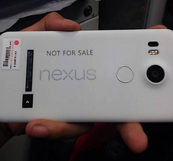 New image of a Nexus 5 (2015) prototype