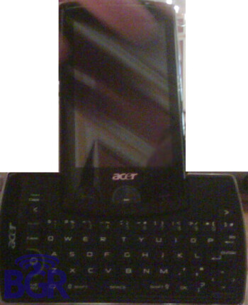 Another Acer phone gets caught; to be announced at the MWC