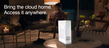 A home cloud server from WD