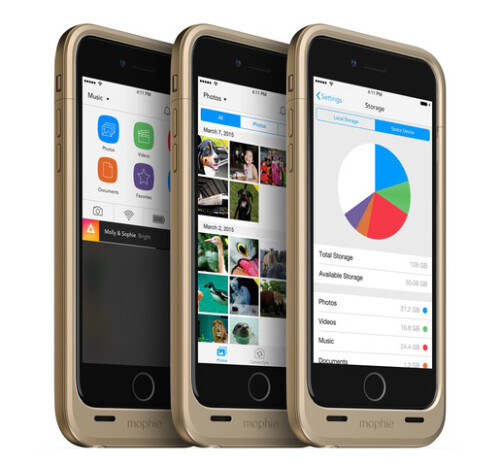 Mophie Space Pack battery case