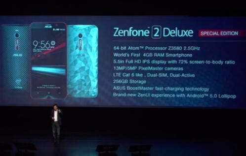 Asus introduces the ZenFone 2 Deluxe Special Edition with 256GB of internal storage