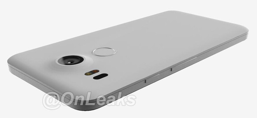 This new render portrays an LG-made new Nexus phone - The new Google Nexus phones are coming: event set for Sept 29th
