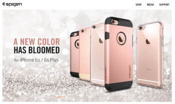 Spigen teaser confirms new Rose Gold color for the Apple iPhone 6s and Apple iPhone 6s Plus
