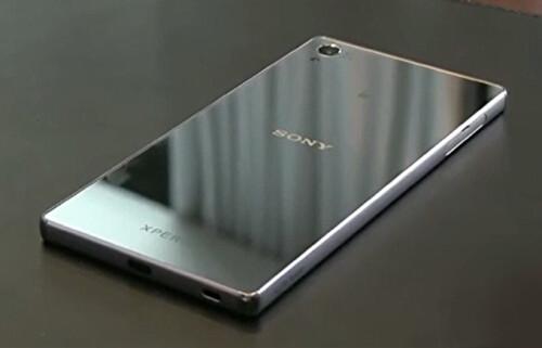 Sony Xperia Z5 in Chrome