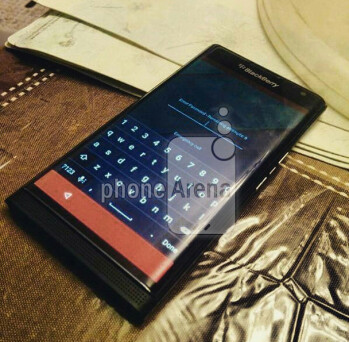 The Android powered BlackBerry Venice slider