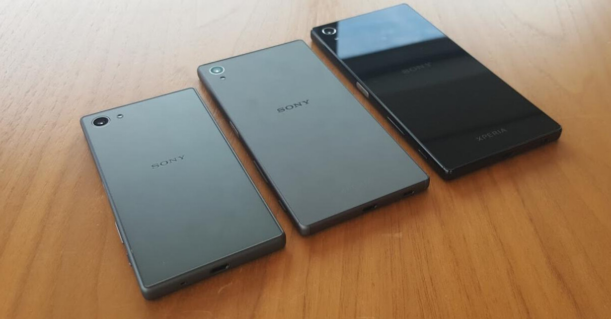 Here Are Images Of The Three Sony Xperia Z5 Models That