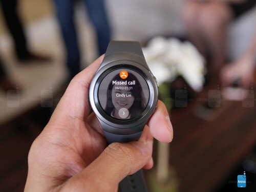 Samsung Gear S2 interface