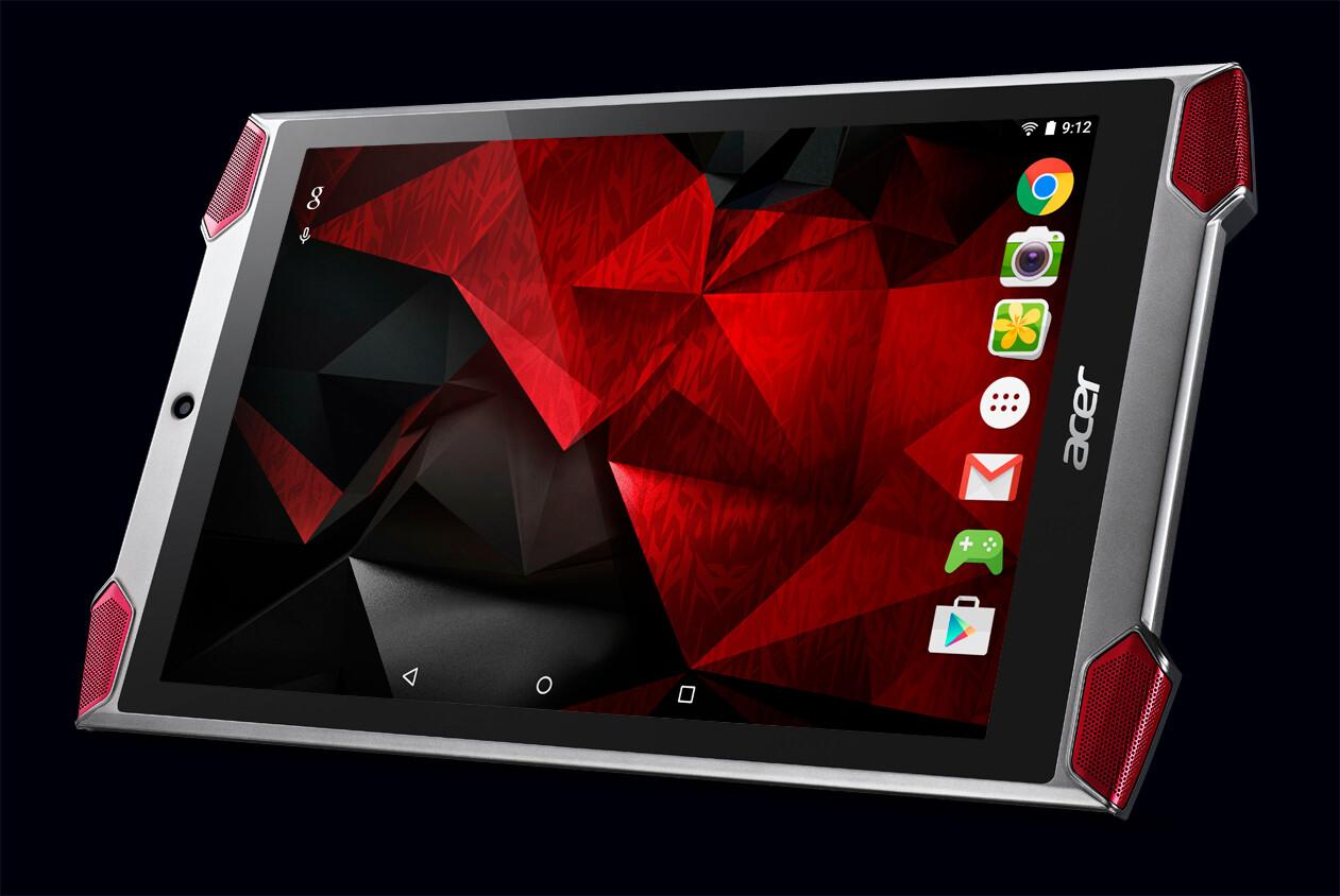 Acer Predator 8 GT-810 tablet enters the scene: made for ...