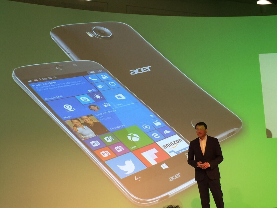 The Acer Jade Primo is the world's first phone to support Windows 10's Continuum