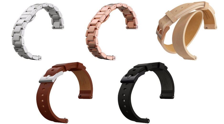 Moto 360 bands - New Motorola Moto 360 (2015) and Moto 360 Sport officially unveiled