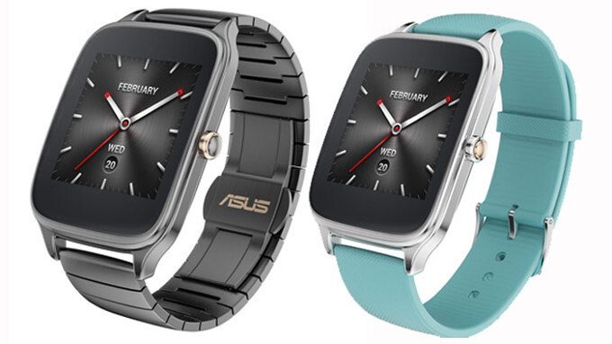 Asus announces the ZenWatch 2 - different sizes, magnetic chargers, lots of customizability