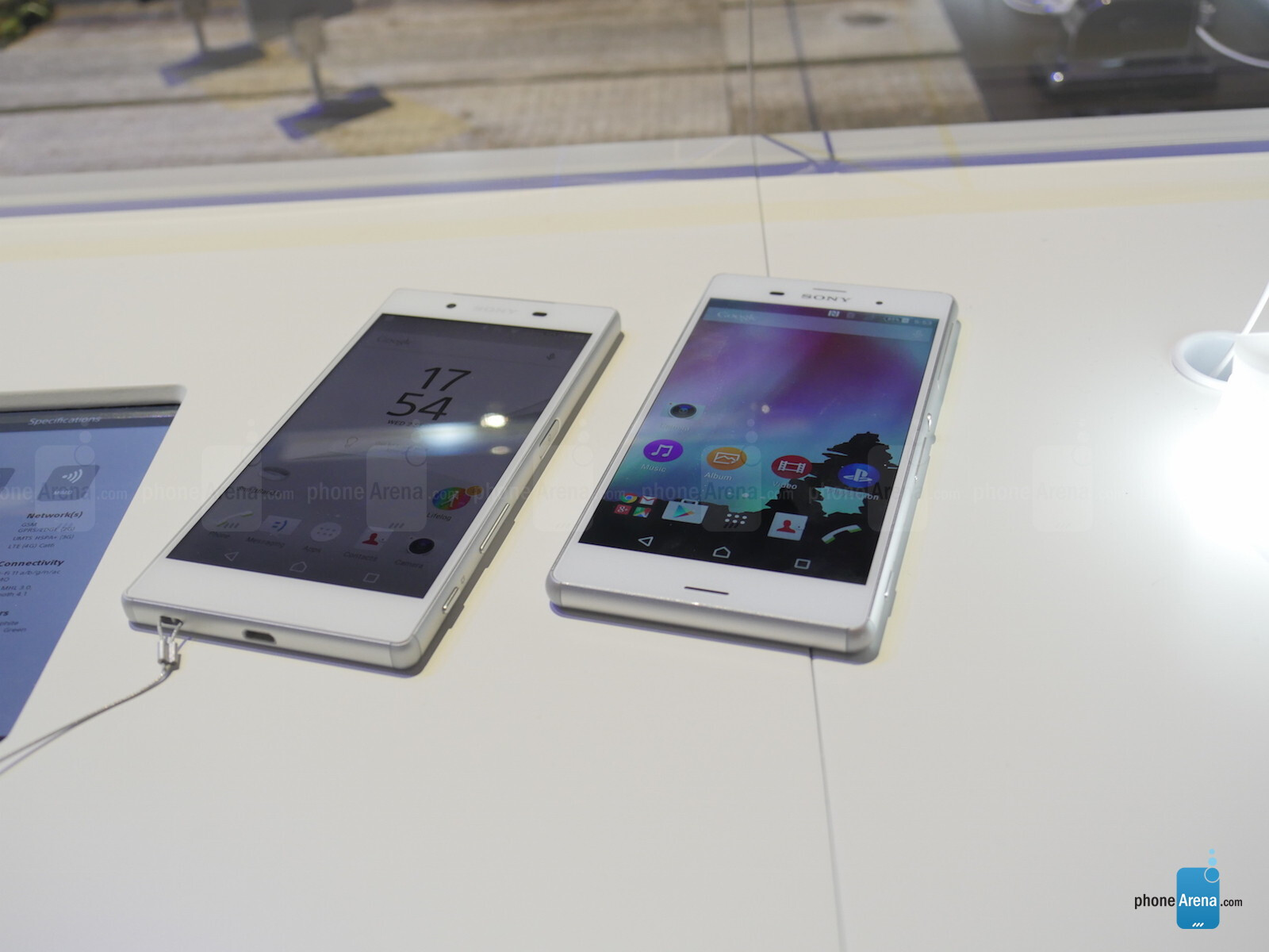 how to fix the time on xperia phone