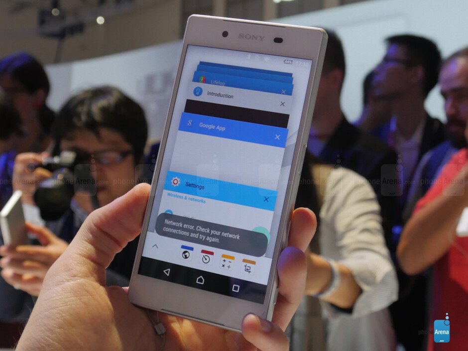 Sony Xperia Z5 hands-on: long time no see